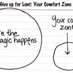 Outside your comfort zone is where the magic happens