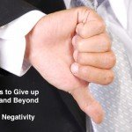 40 Things to Give up for Lent and Beyond: Negativity