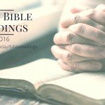 Daily Bible Readings 2016
