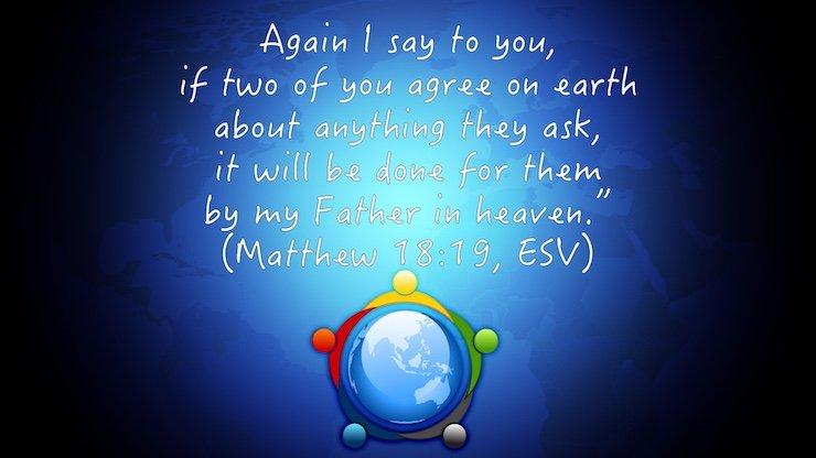 Verse of the Week: Matthew 18:19 - philressler com